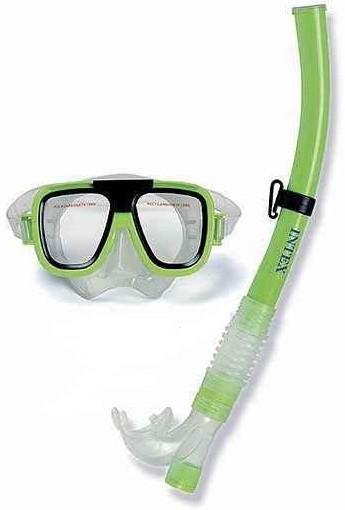 Набор для дайвинга маска-трубка Intex 55945