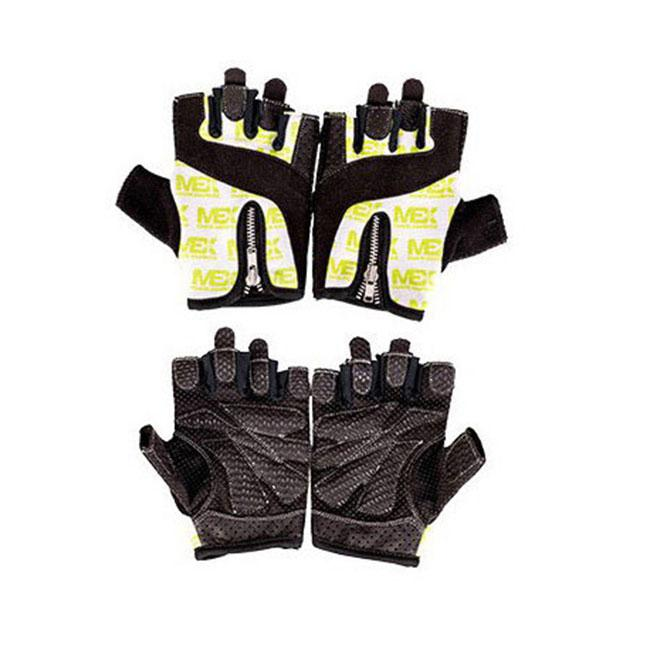 MEX Nutrition Smart Zip Gloves Lime