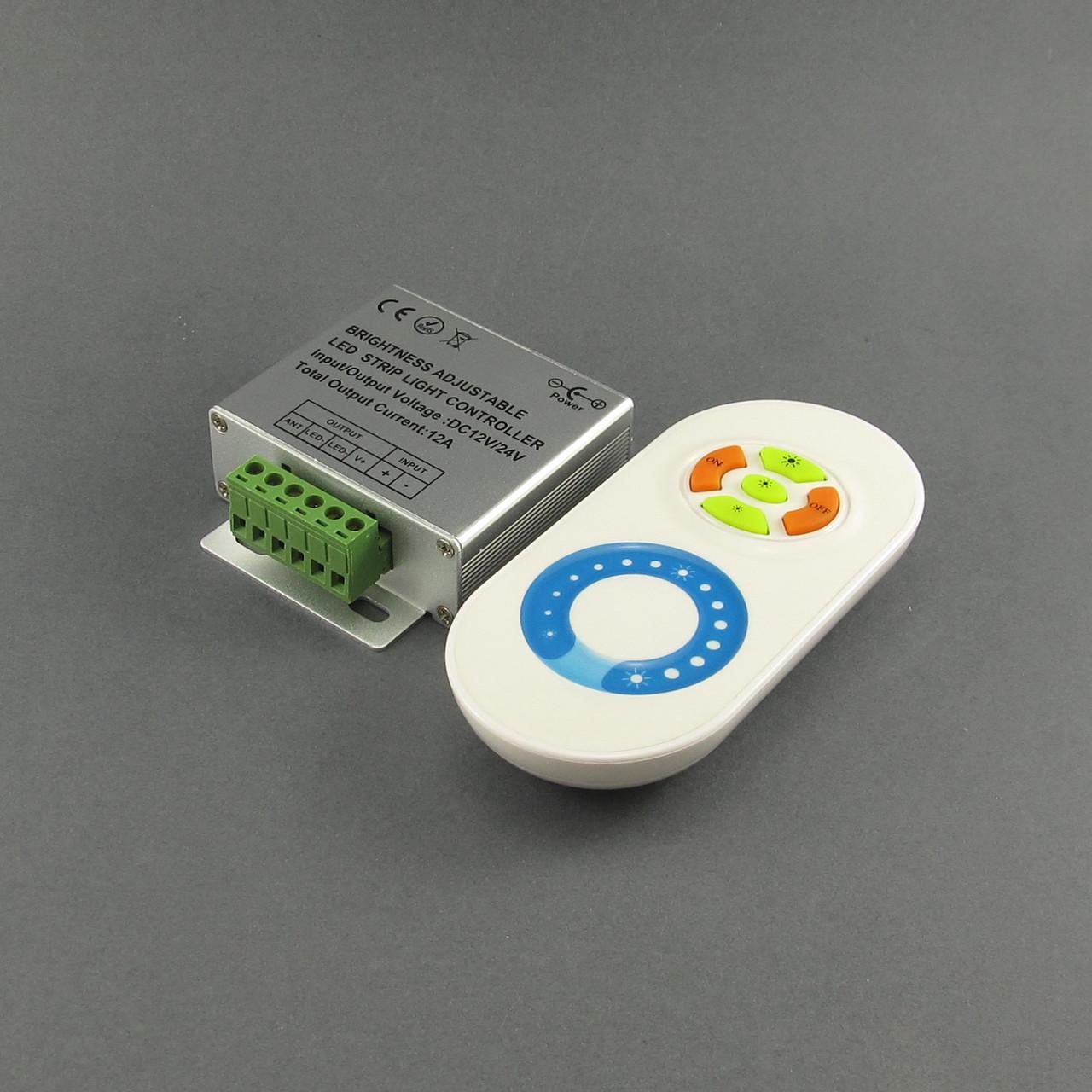 Диммер для LED ленты 12А радиоуправление сенсорное