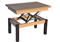 Журнальный обеденный стол-трансформер Баттерфляй (дуб-Сонома)