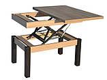 Журнальный обеденный стол-трансформер Баттерфляй (дуб-Сонома), фото 4