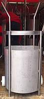 Тележка для коптильных палок с высокой корзиной