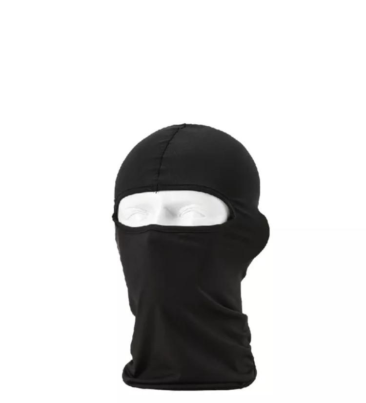 Универсальная защита лица от ветра/балаклава/подшлемник (Чёрный)