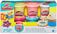 Набор пластилина Коллекция конфетти 6 баночек, Play-Doh