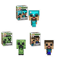 Коллекционные фигурки Фанко Поп Funko Pop Майнкрафт Minecraft