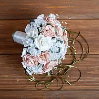 Свадебный букет-дублер невесты с розами