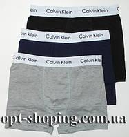 Мужские трусы боксеры оптом Calvin Klein (M-XXL) 3 шт реплика 2de2f8453c64b