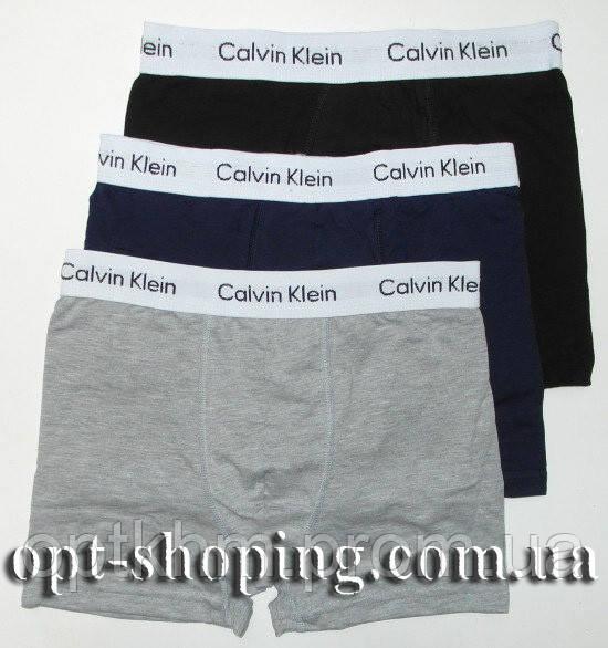 b33d6bbb562a Мужские трусы боксеры оптом Calvin Klein (M-XXL) 3 шт реплика