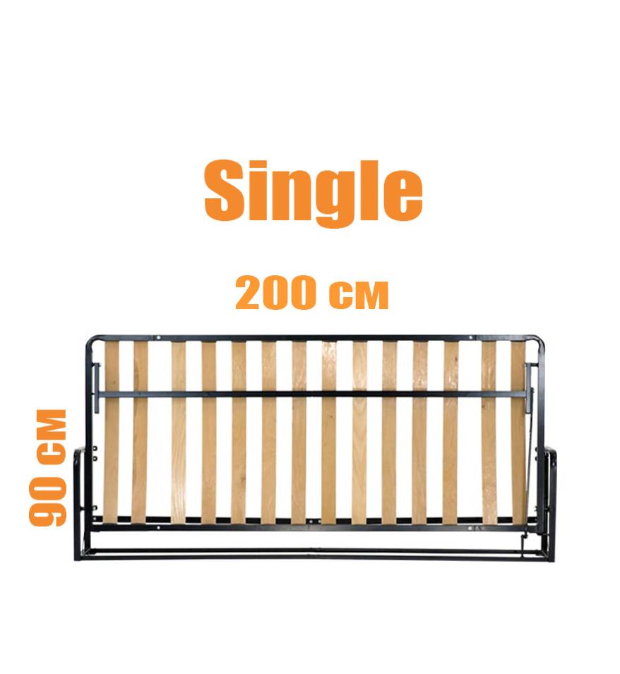Горизонтальная откидная кровать LWB Single