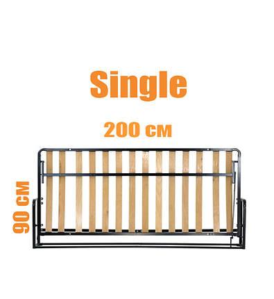 Горизонтальная откидная кровать LWB Single, фото 2