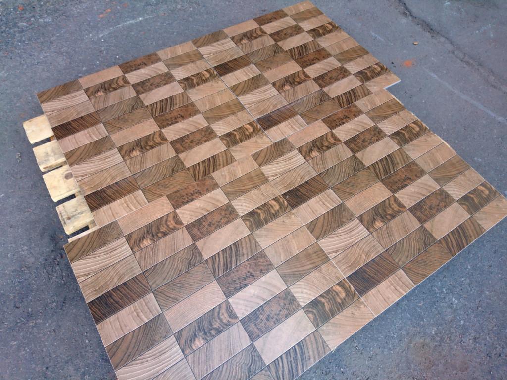 f2c93e4205 Плитка для пола под дерево Cameroon М Керамогранит напольный под паркетную  мозаику -