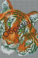"""Схема для вышивки бисером  """"Тигрица и тигренок"""""""