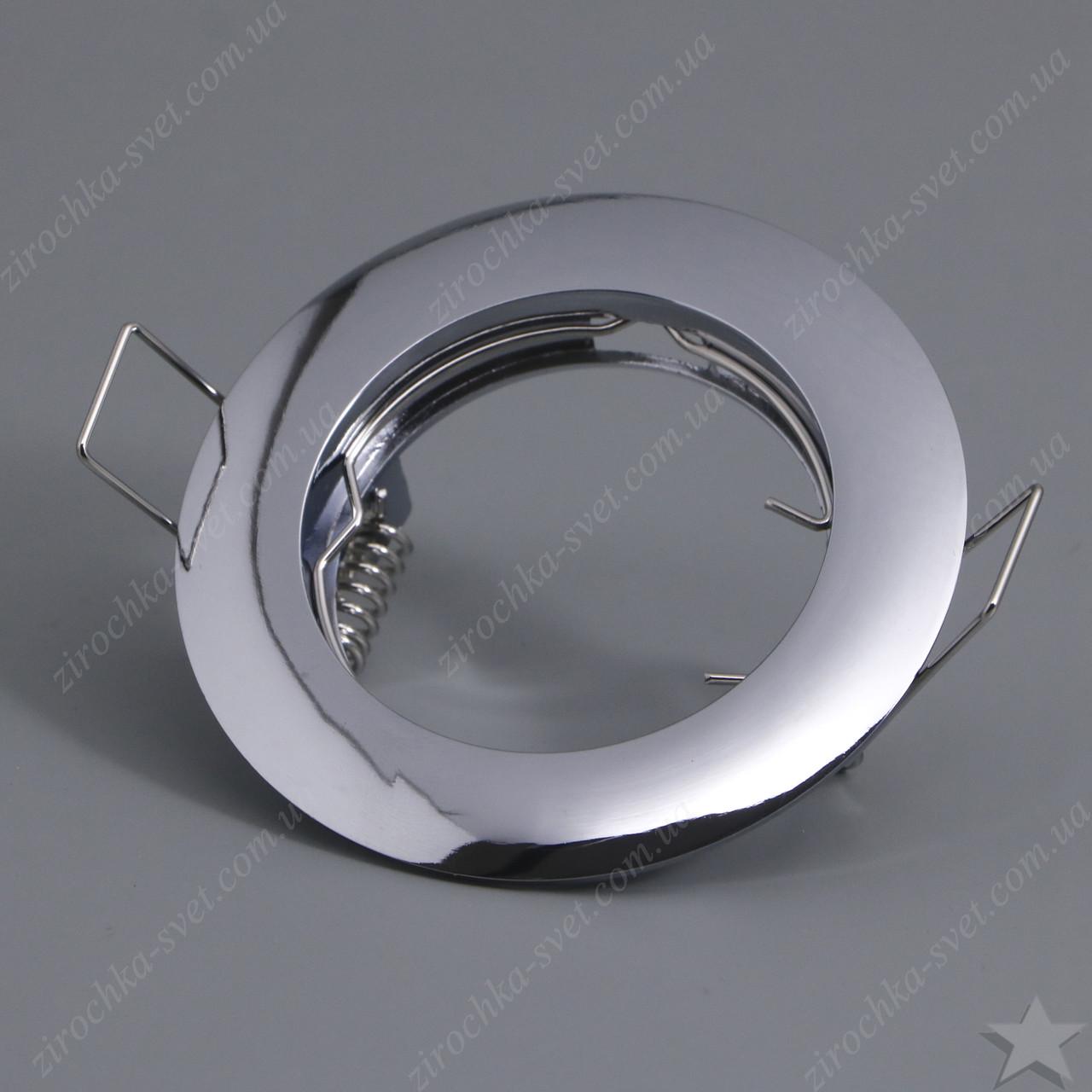 Светильник встраиваемый Feron DL307 хром под лампу MR16