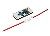 Диммер для LED ленты 12В 6А (11кнопок), пульт радиоуправление, фото 1