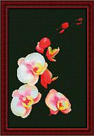 Набор для вышивания Юнона Розовая орхидея