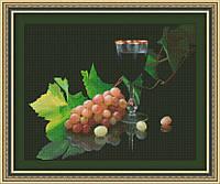 Набор для вышивания Юнона Виноград и вино