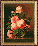 Набор для вышивания Юнона Розы