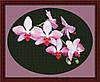Набор для вышивания Юнона Ветка орхидеи