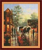 Набор для вышивания Юнона Весенний дождь