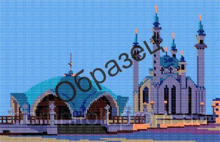 Схема вышивки мечеть кул шариф фото 950