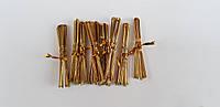 Шпилька для волос 7см золотая (500 шт)