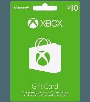 Xbox Gift Card от 10$ до 60$, скидка 2%