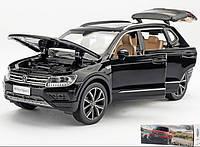Коллекционный автомобиль Volkswagen Tiguan L (черный)