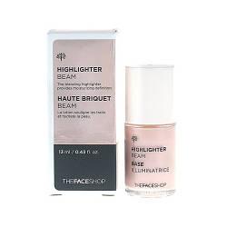 Лёгкий кремовый хайлайтер для лица The Face Shop Highlighter Beam - 13мл