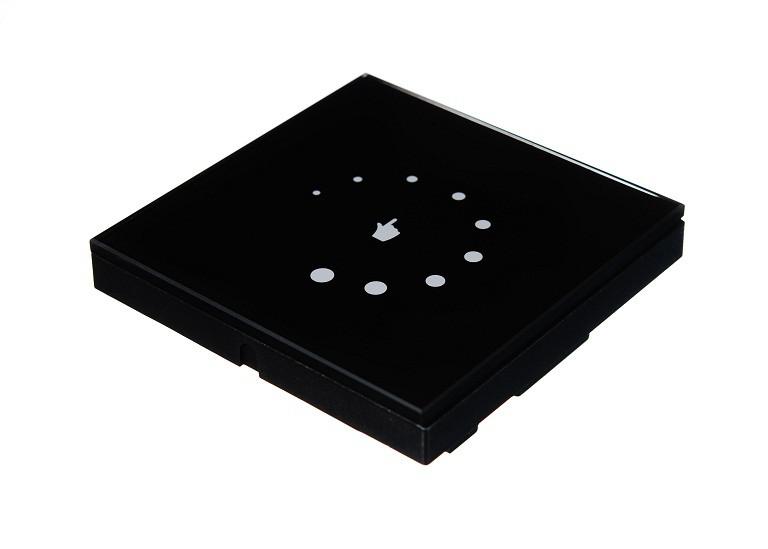 Диммер сенсорный 8А 12В черный