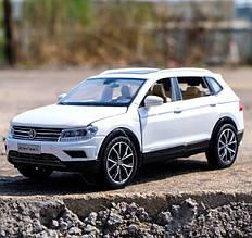 Коллекционный автомобиль Volkswagen Tiguan L (белый)