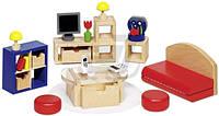 Кукольный набор GoKi Мебель для гостиной II 28 предметов 51749G