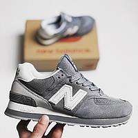 Женские Кроссовки New Balance 574 ML Grey White — в Категории ... d7b6264698a71