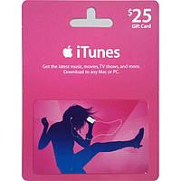 ITunes Gift Cards от $25 до $200, скидка 2%