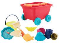 Тележка-манго (11 предметов), набор для игры с песком и водой, Вattat
