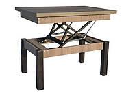 Журнальный обеденный стол-трансформер Баттерфляй (дуб сонома трюфель)