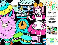 Художественный комплект для рисования Парад сладостей, Djeco