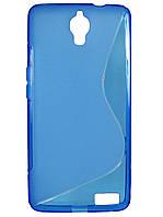 S-line чехол для Alcatel OneTouch Idol X 6040 / 6040D Синий