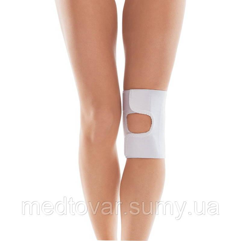 Бандаж для коленного сустава (с открытой чашечкой) бежевый,тип 513, размер 4 обхват колена 42-45 см.
