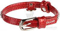 Ошейник Collar Brilliance с отделкой Полотно стразы 9 мм 18-21 см 33063