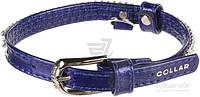 Ошейник Collar Brilliance с отделкой Полотно стразы 1,2х21-29 см 33082