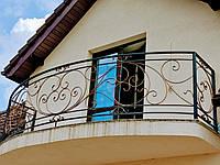 Кованые перила на балкон арт.кп 40