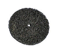 Зачистной круг Polystar Abrasive 125х10 мм.без основы черный (средней жесткости)