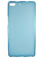Чехол TPU для Fly IQ453 Luminor Синий