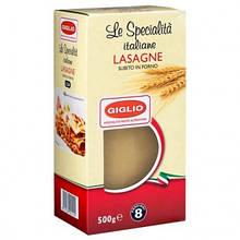 Листы для лазаньи Giglio Lasagne 500 гр. Италия