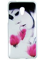 Чехол с рисунком для HTC Desire 700 Девушка