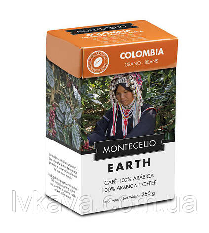 Кофе молотый Cafe Montecelio Earth Colombia, 250г, фото 2