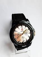 Часы кварцевые мужские  Army Black, фото 1