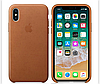 Кожаный чехол  Leather Case IPHONE Х / XS (Saddle Brown)