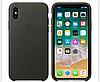 Кожаный чехол Leather Case IPHONE Х / XS (Charcoal Gray)