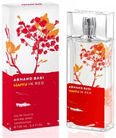 Armand Basi Happy In Red lady 100ml edt Туалетная вода Оригинал